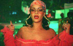 Rihanna dans le clip Wild Thoughts