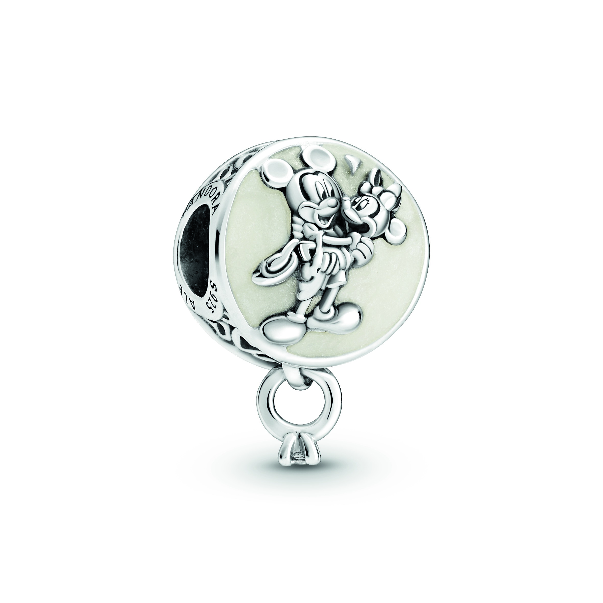 charms pandora de la collection Disney Favorite minnie et mickey amoureux