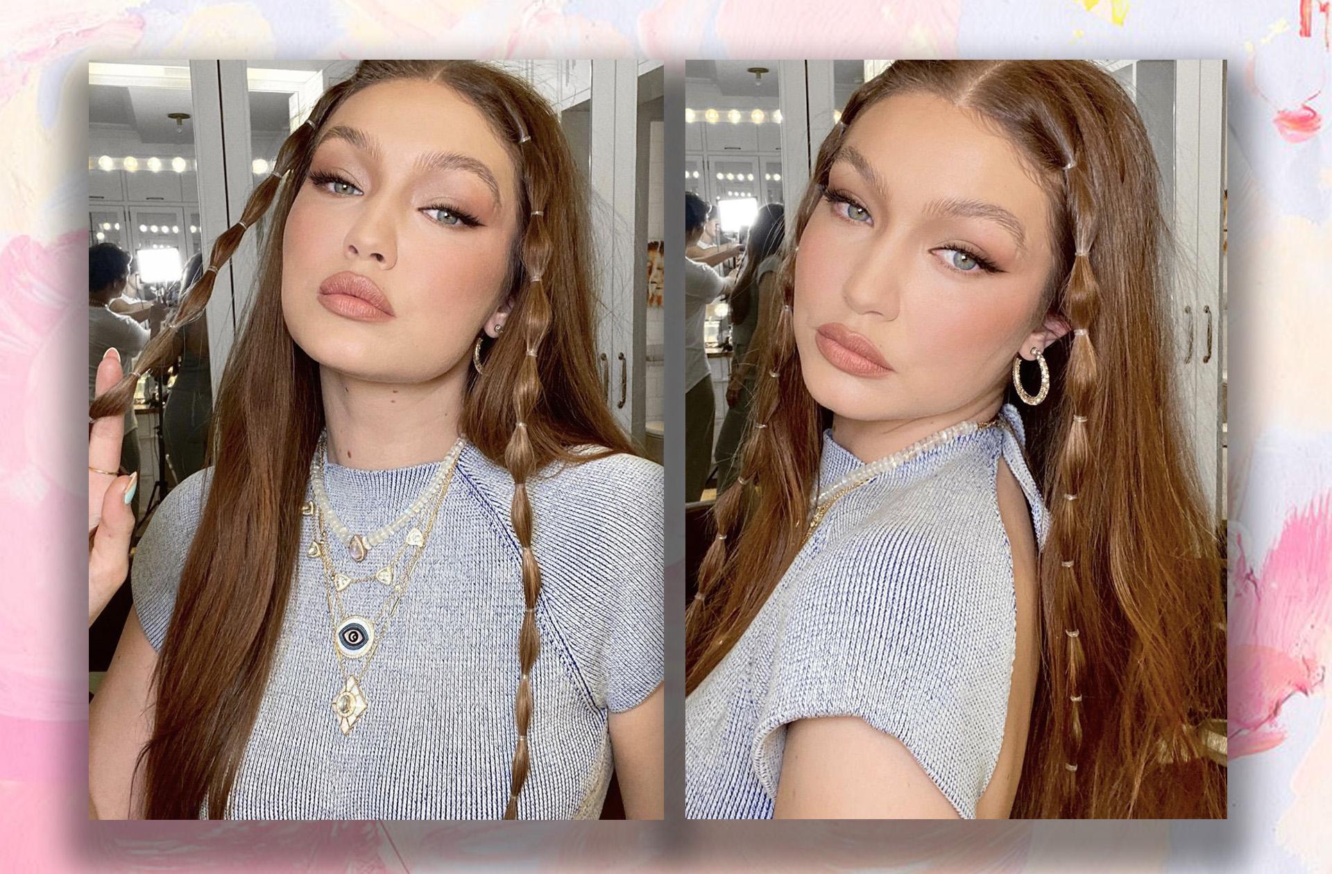 Gigi Hadid fait le buzz en mixant deux des coiffures les plus stylées du moment