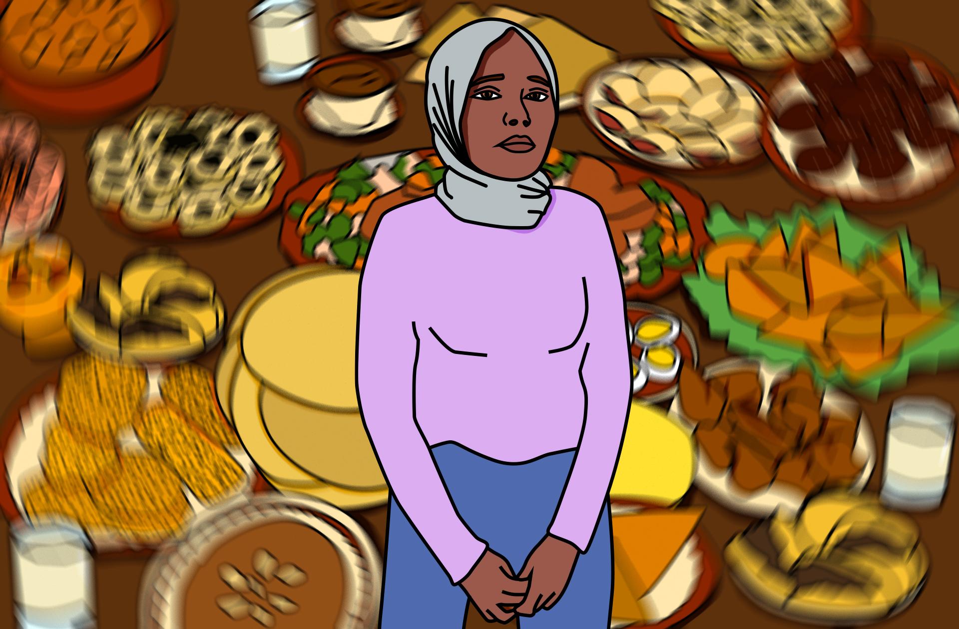 Le radaman avec des troubles du comportement alimentaire:«j'étais obsédée par la nourriture»