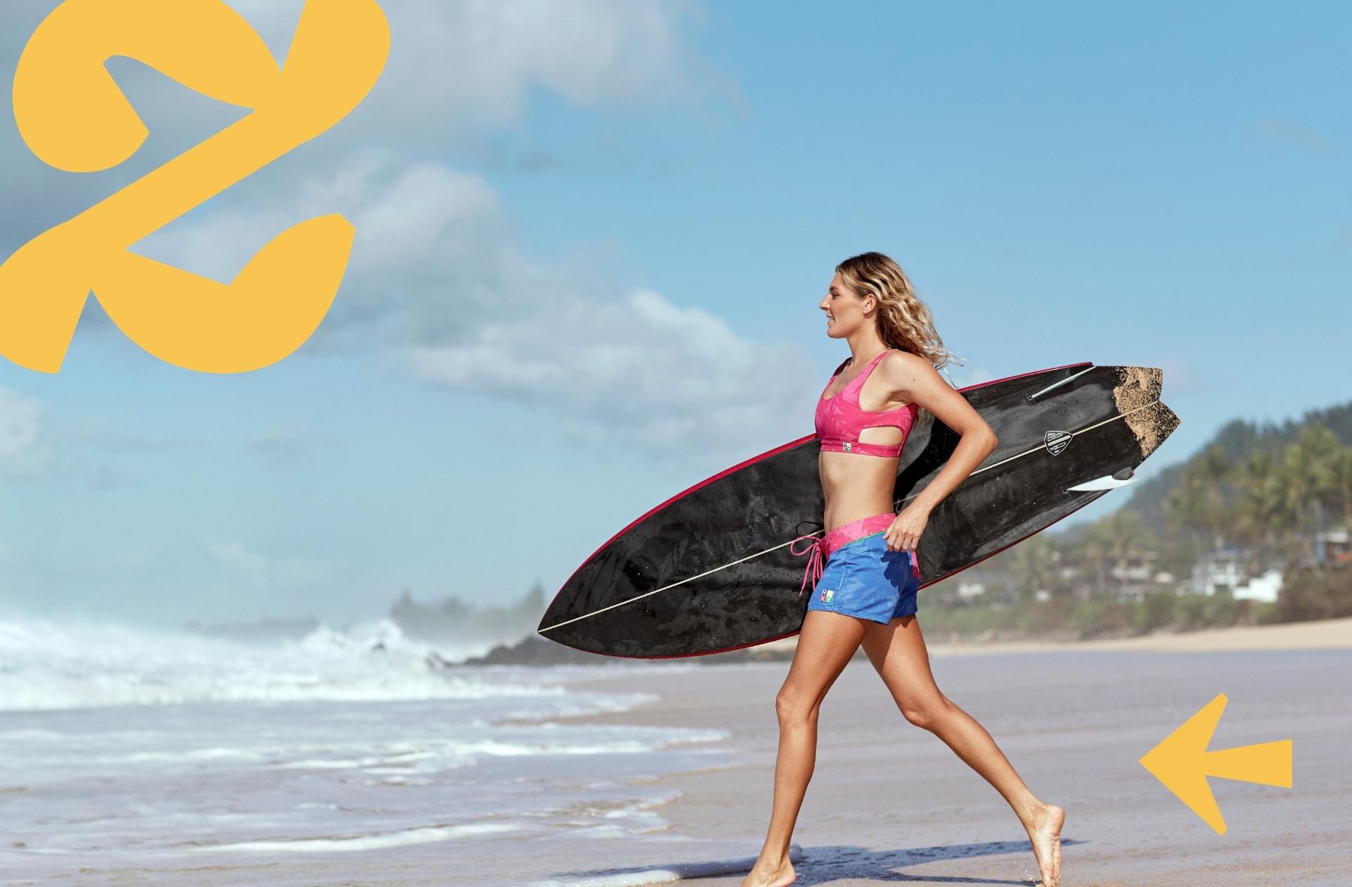 Comment Roxy rend le beachwear éco responsable avec la collection POP surf