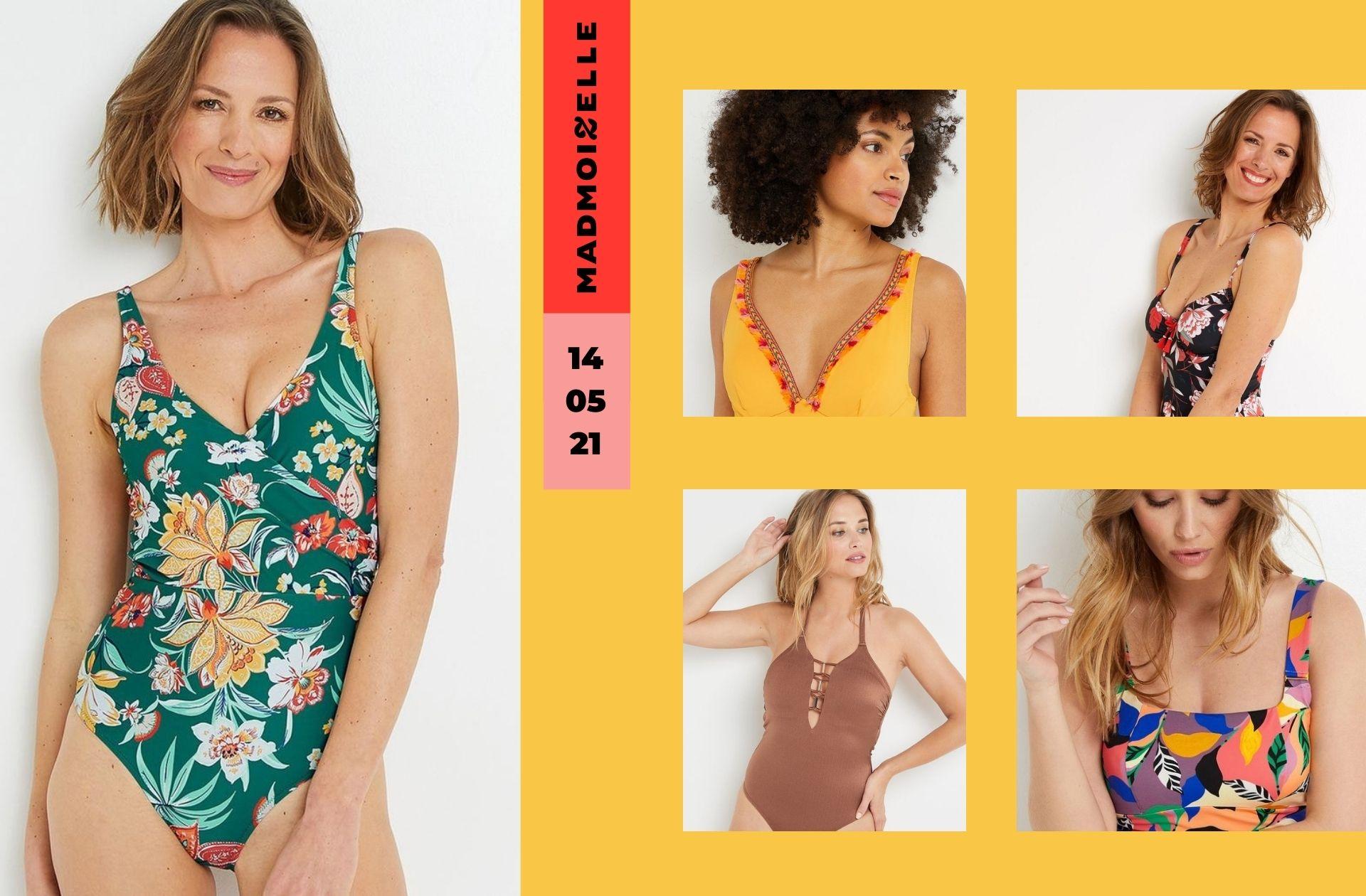 9 maillots de bain une pièce Rougegorge en promo sur le site de La Redoute