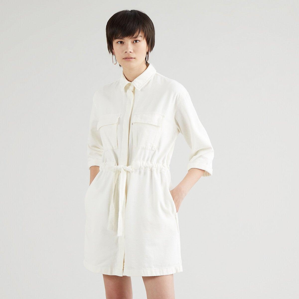 Robe-chemise courte en coton et lyocell, Levi's, 57,85€ au lieu de 89€.