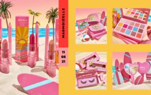 La collection ColourPop Cosmetics x Barbie nous emmène à Malibu