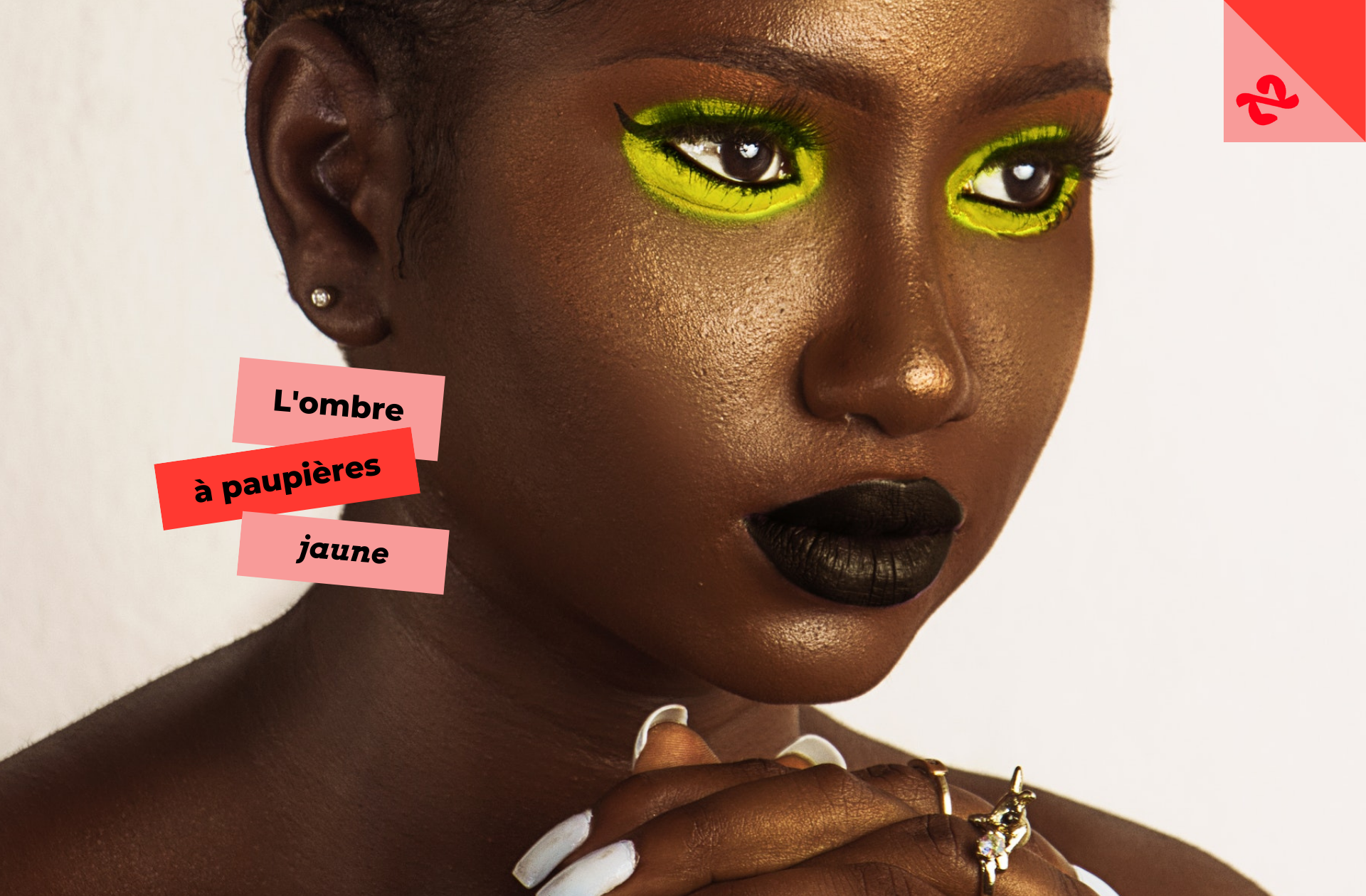 Breaking news : le fard jaune devient l'obsession makeup du printemps