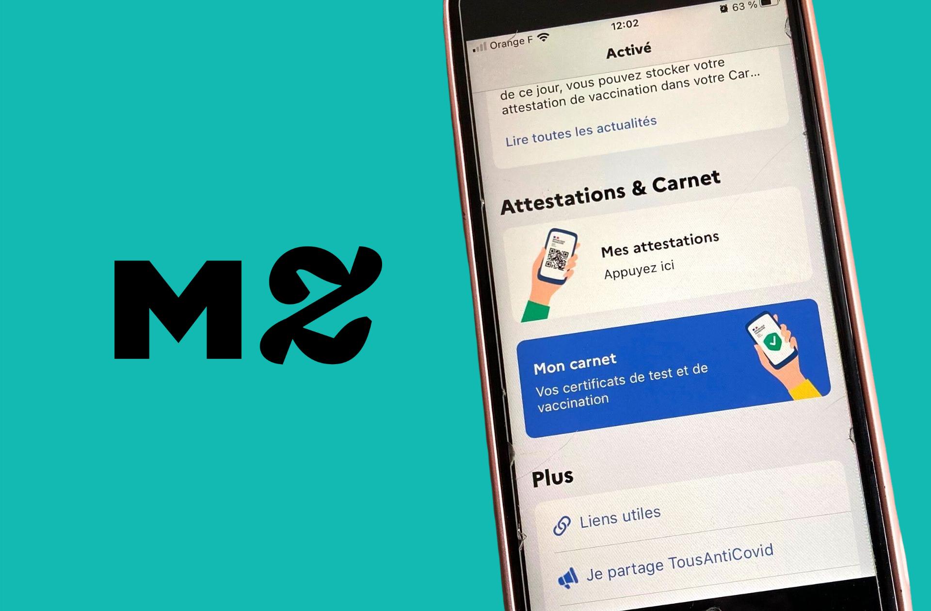 Bientôt un pass sanitaire sur votre smartphone avec l'appli TousAntiCovid ?