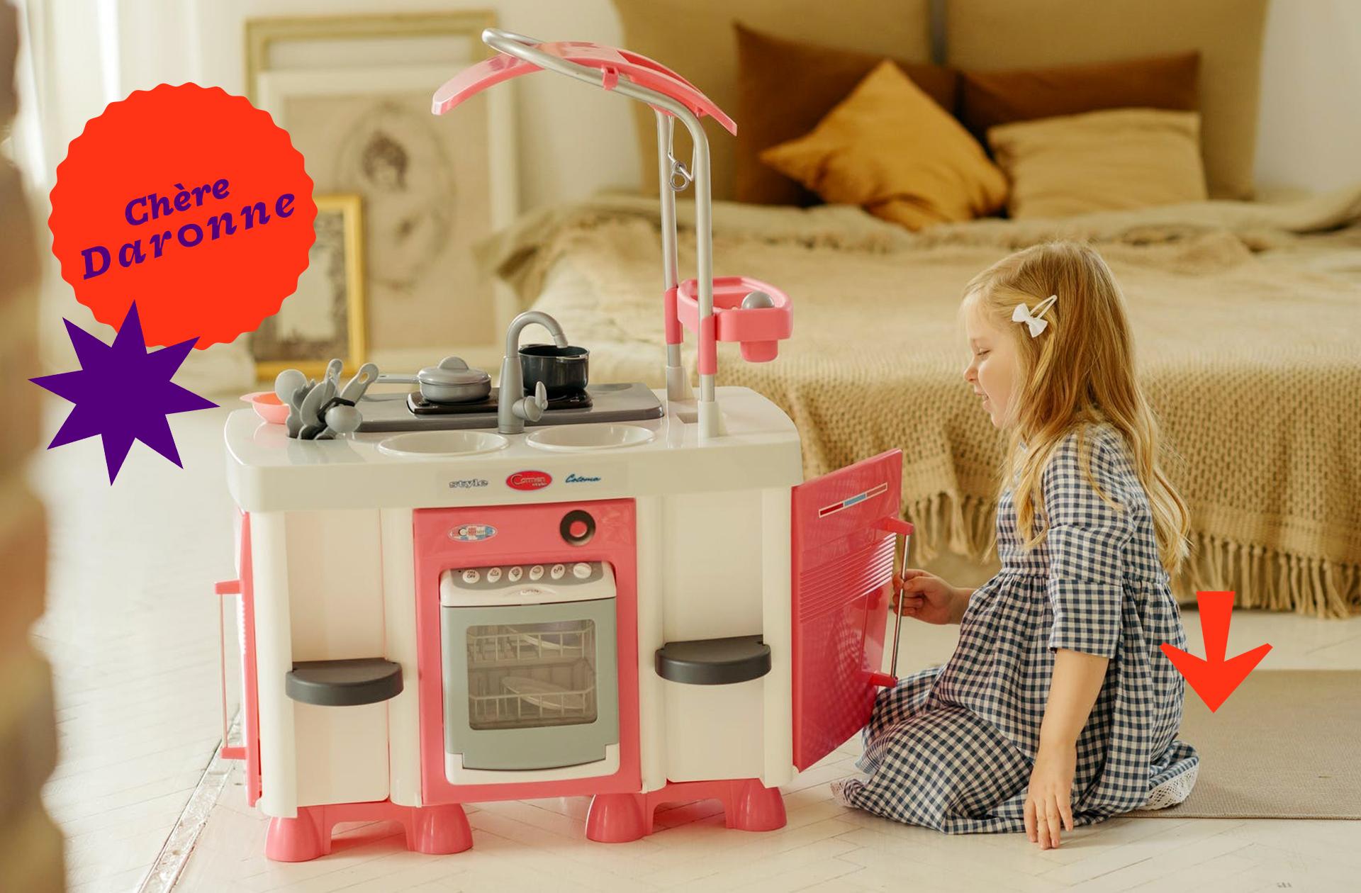 Ma fille veut des jouets aspirateur et serpillère, ai-je enfanté un suppôt du patriarcat ?