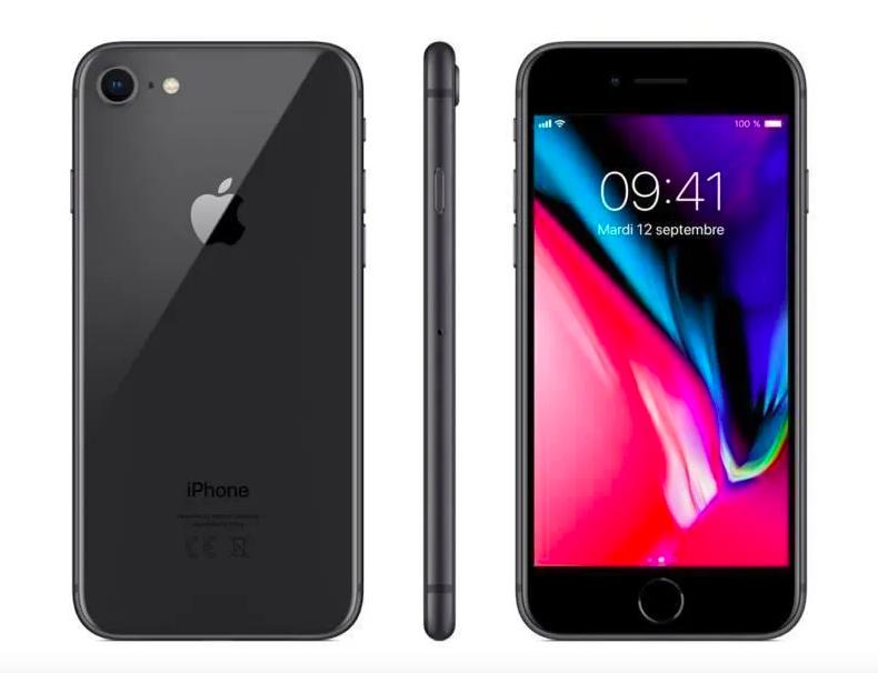 Iphone 8 64Go Gris sidéral - Reconditionné - Excellent état vendu sur Cdiscount