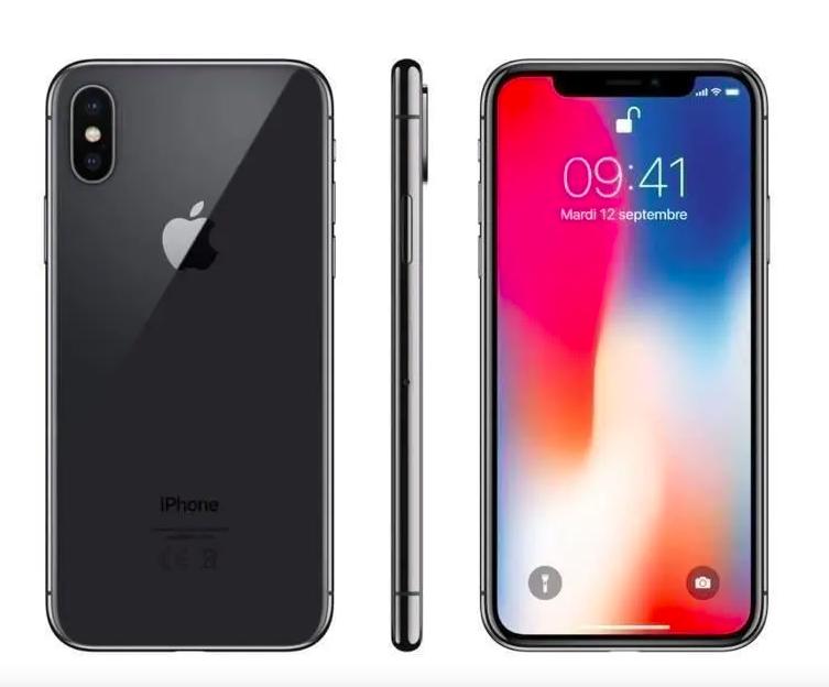 APPLE Iphone X 64Go Gris sidéral - Reconditionné - Excellent état vendu sur Cdiscount