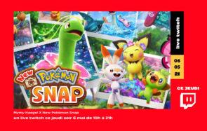 Ce soir sur Twitch, Mymy vous emmène en safari dans «New Pokémon Snap»