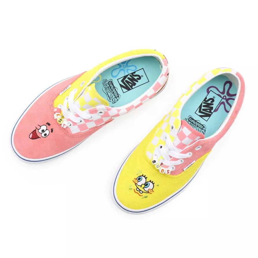 Chaussures Spongebob x Vans Era, 90€.