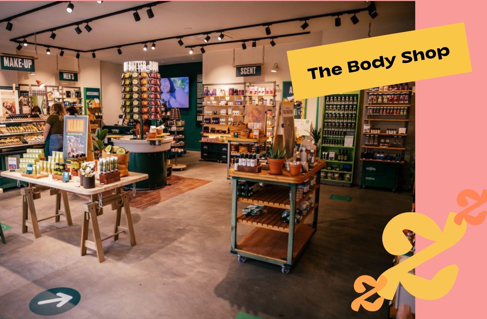 Good news : The Body Shop va devenir 100% vegan d'ici 2023 !