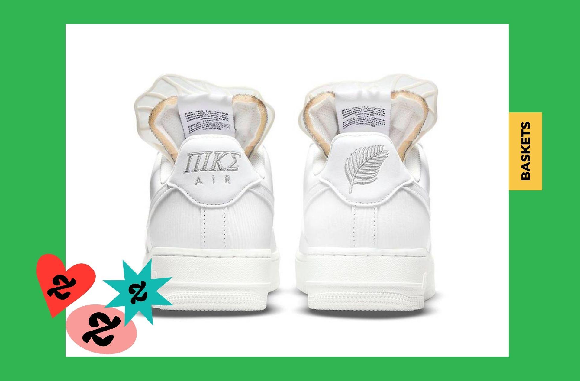 Nike rend hommage à la déesse grecque du même nom... sans se soucier de l'orthographe grecque, OKLM