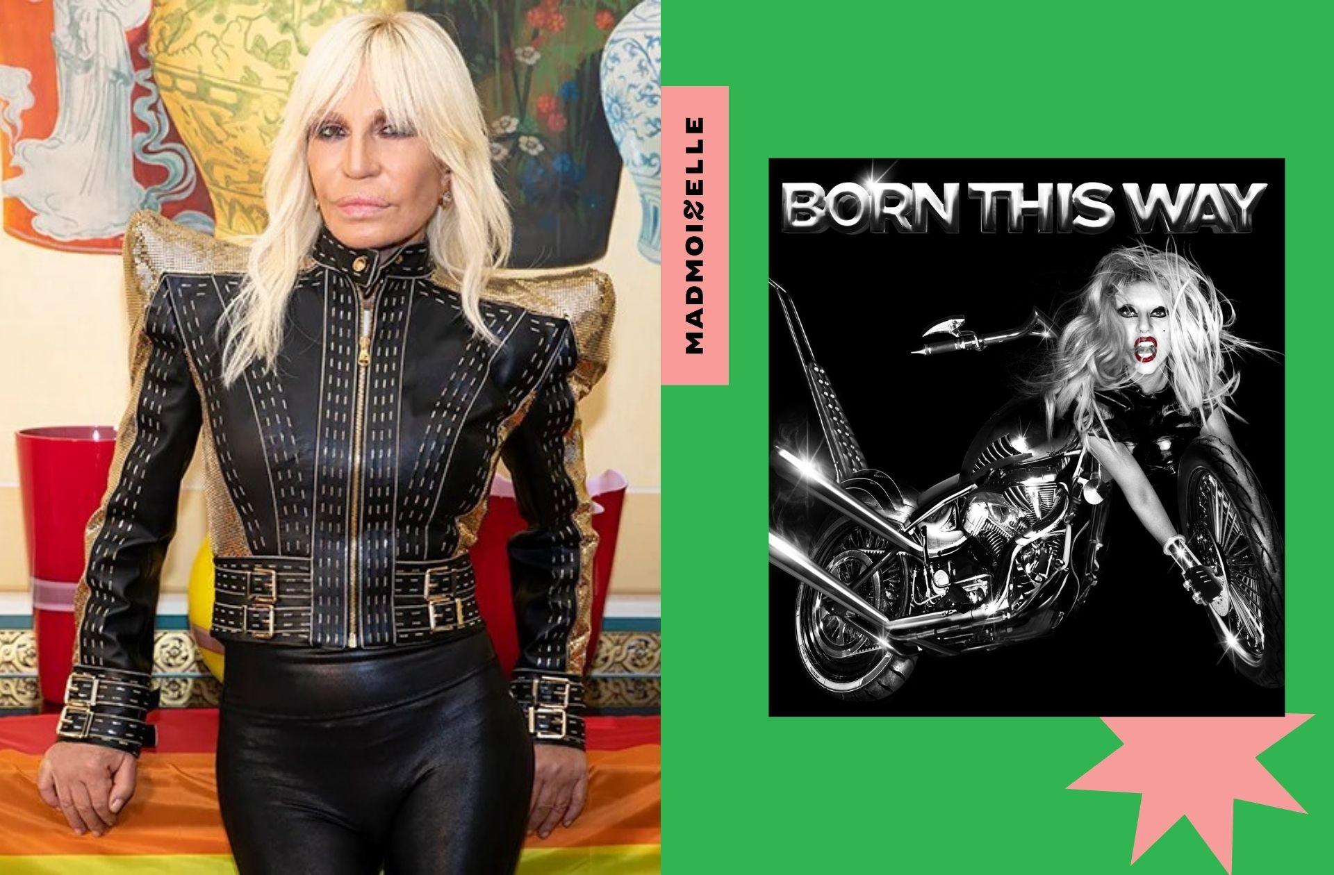 Cette veste culte de Lady Gaga conçue par Donatella Versace est mise aux enchères pour la cause LGBTI+