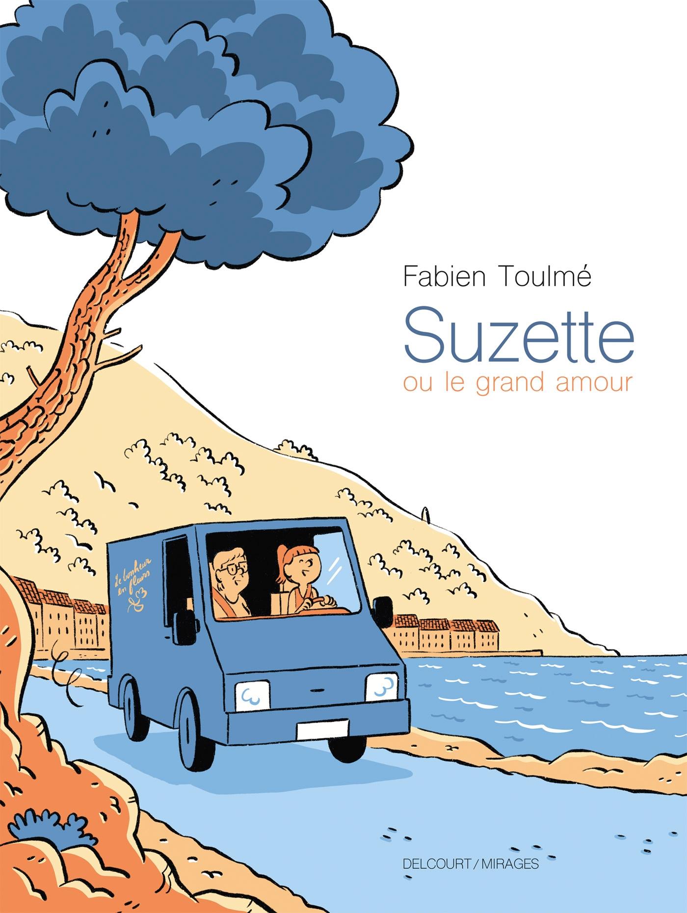 couverture suzette ou le grand amour aux éditions Delcourt