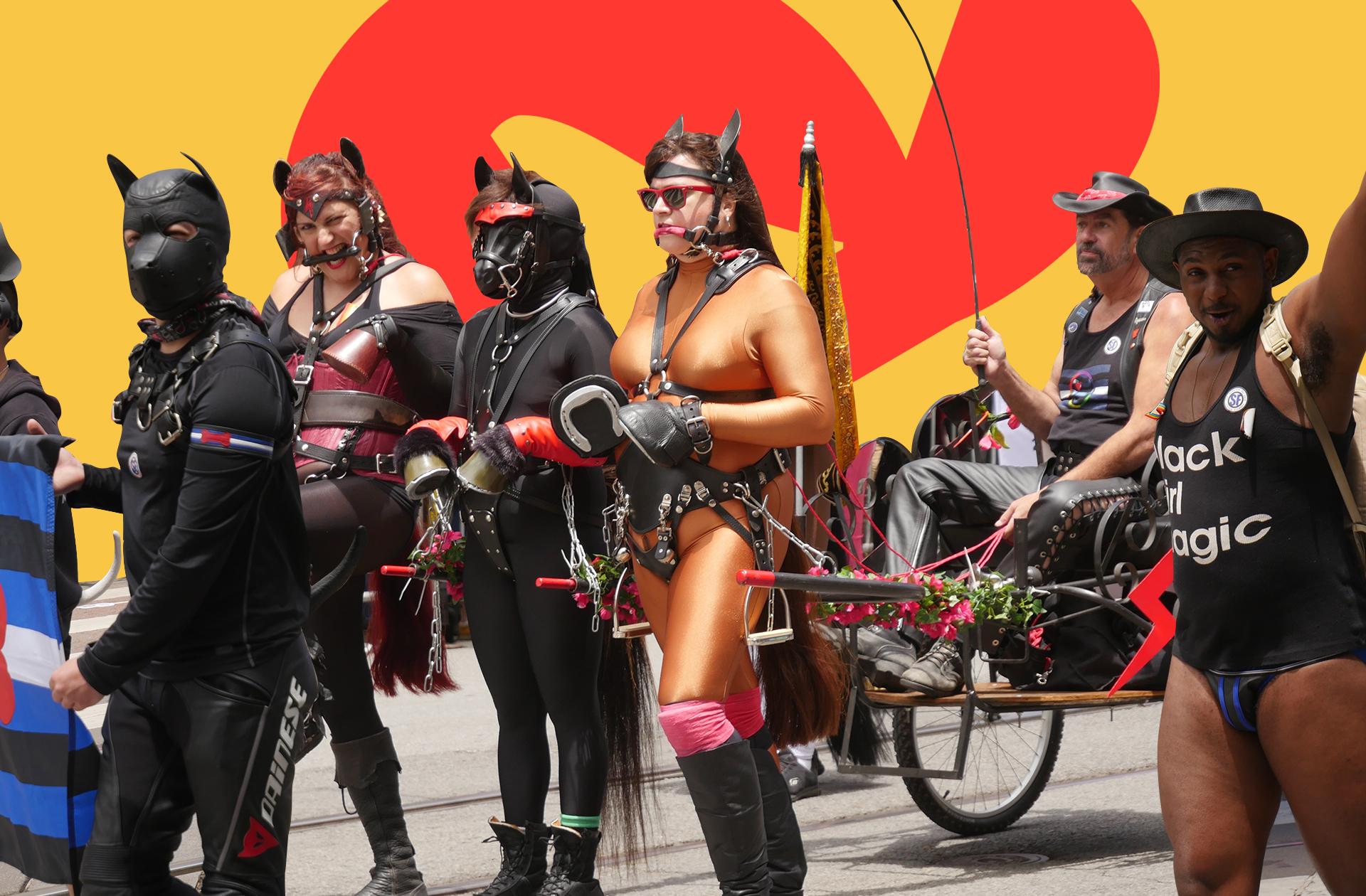 «Pas de fetish à la Pride»:l'éternel débat du cuir et du latex dans les marches LGBTI+