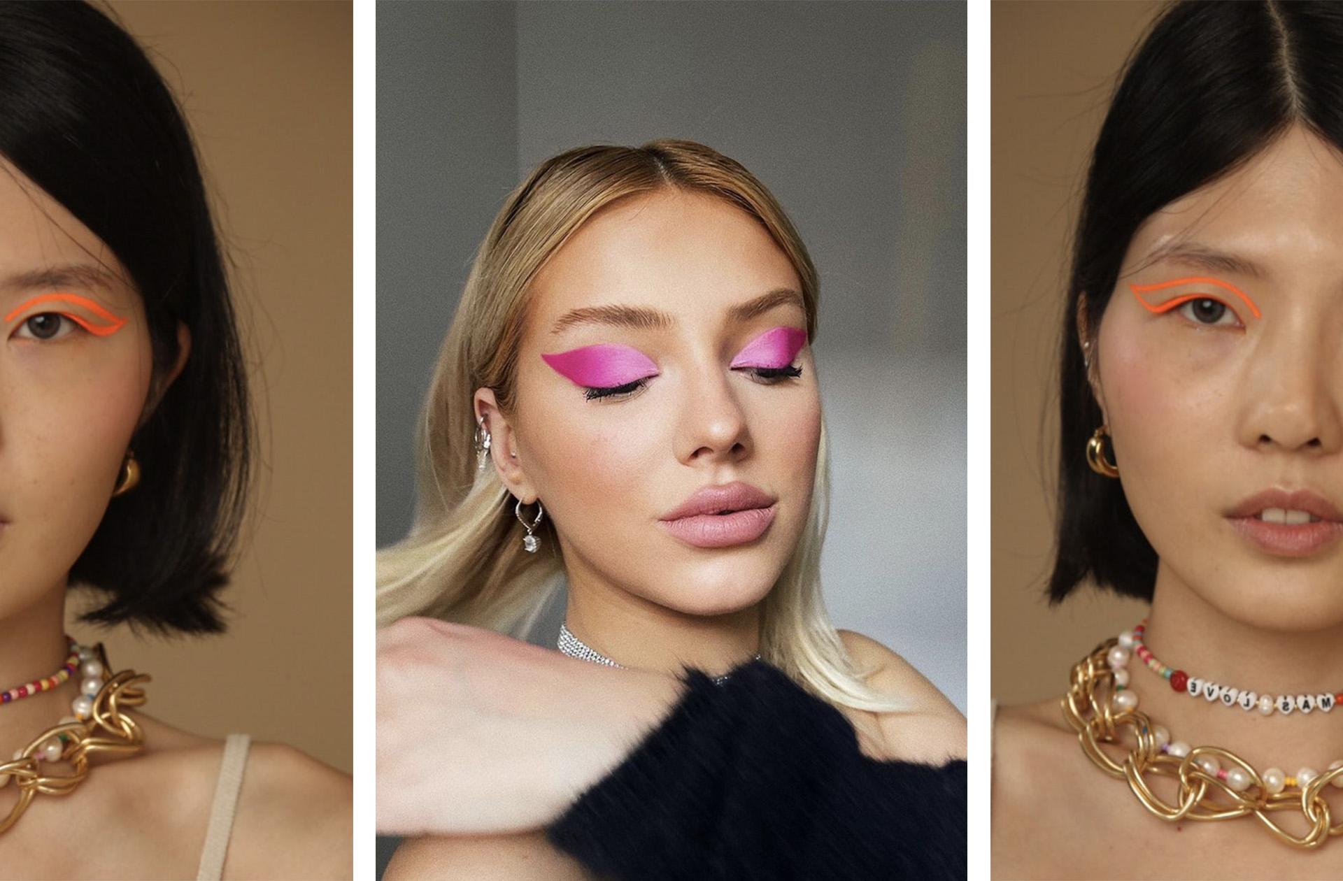 Le retour du makeup néon ne surprend personne mais il fait quand même plaisir